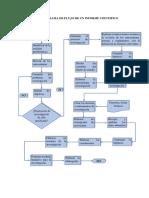 Diagrama de Flujo de Un Informe Cientifico