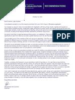 Legalization Work Group Exec Summary 10-16-19