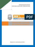 Proyecto Cruzada Por La Calidad de La Educacion Basica BCN