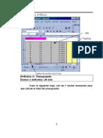 Ejercicios Excel Primera Parte