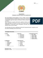 BRM Questionnaire