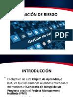 Análisis de Riesgo Del Proyecto