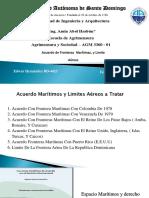 Acuerdo Fronteras Martimas y Aereas Grupo 6