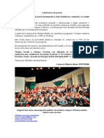 Conferencia de prensa - Actrices Argentinas - Caso Darthés