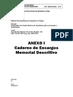 Projeto de edificação para aquario - Brasilia