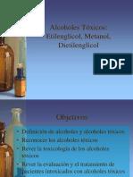 Alcoholes Toxicos