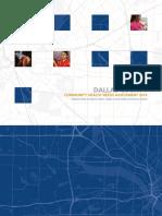 Dallas County health report
