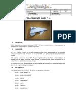 Procedimiento AVIÓN F16
