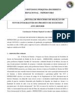 Edital - Nepedi Rv 14.10