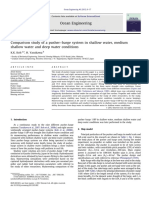K.K.koh_2012_Comparison Study of a Pusher–Barge System in Shallow Water, Medium Shallow Water and Deep Water Conditions
