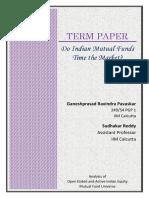 Ganeshprasad Pavaskar Term Paper