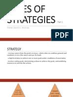 Types of Strategies 1