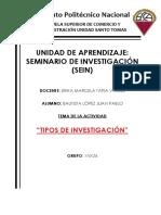 Tipos de Investigacion_sein_u2_act 3_bautista López Juan Pablo