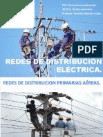 Redes de Distribucion Primarias Aéreas.