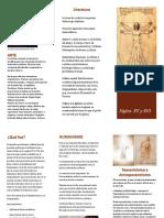 folleto renacimiento