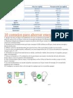 10 Consejos Para Ahorrar Energía Eléctrica