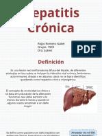 Hepatitis cronica