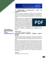 La investigación socio-educativa. Hacia un enfoque complejo - Lourdes Leopardi