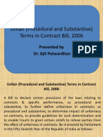 Unfair Contract Act Draft - PPT.pptx