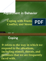 Coping with Frustration, Conflict, and Stress