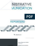 Uses of Business Media, Written and Oral Communication
