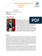 Biografia Noboa Diego