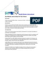 Wealth Masters International- Our Mission and a Vision for Your Future
