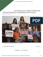 Coahuila aprueba Ley Olimpia para castigar la difusión de contenido �