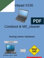 x230 Coreboot Neuted Me