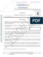 Vision IAS CSP 2019 Test 7 Questions