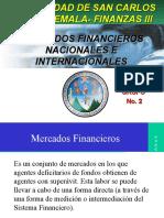 Mercados Financieros Nacionales e Internacionales Completo