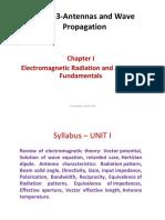 Antenna and radio wave proppagation