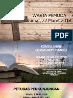 WARTA PEMUDA 22 MARET 2019.pptx
