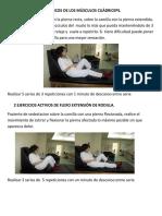1 Ejercicios Isométricos de Los Músculos Cuádriceps Yen