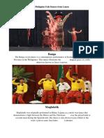 Philippine Folk Dances From Luzon