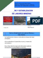 _03 Estabilización de Labores Mineras