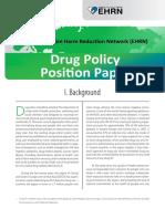 Ehrn Drug Policy Position Paper English 20100805