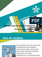 Informe Fases Del Proyecto Formativo