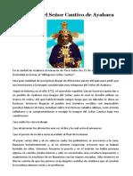 Historia del Señor Cautivo de Ayabaca.docx