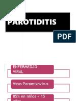 Parotiditis Flavia
