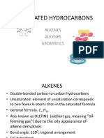 5 Unsaturated Hydrocarbons