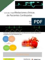 Otras Manifestaciones Clinicas de Pacientes Cardiopatas