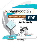 COMUNICACIÓN 5°