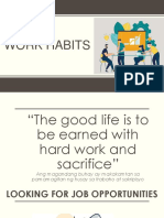 Work Habits 1