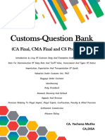 Icai Customs