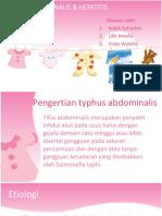 Typhus Abdominalis & Hepatitis Fixx