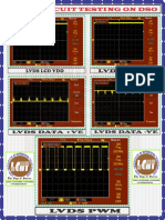 Lvds Circuit Testing on Dso