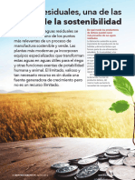 Tratamiento de Aguas Resdiuales, Claves de La Sostenibilidad.