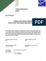 Skema Sertifikasi Fasilitator Pertanian Organik Tanaman