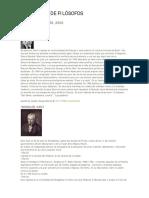 Biografias de Filosofos